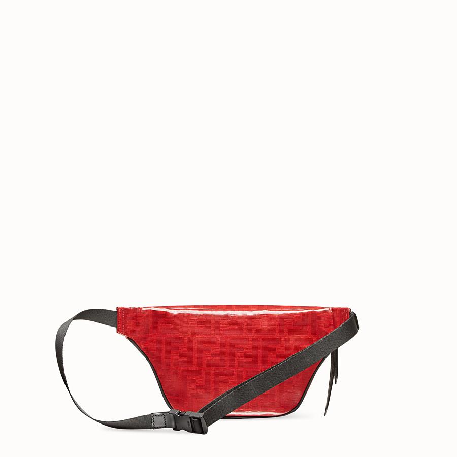 FENDI BELT BAG - Red fabric belt bag - view 3 detail