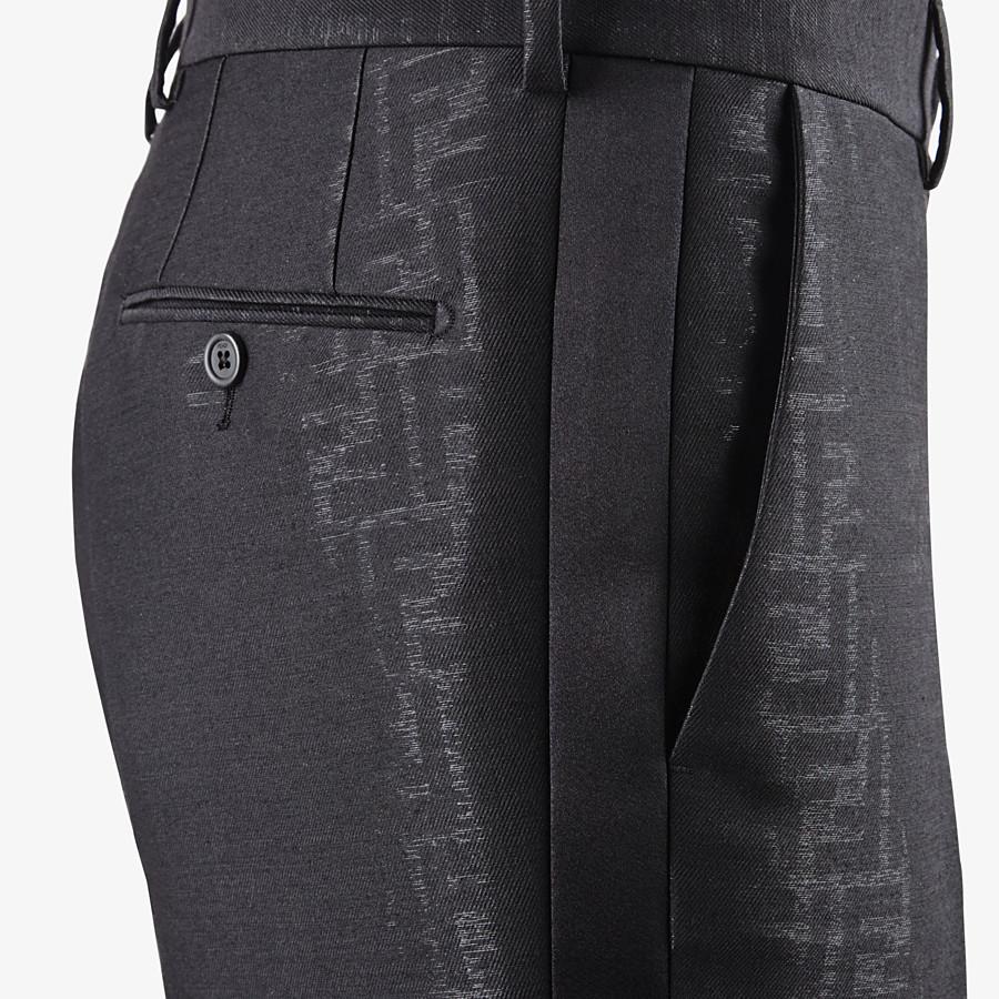 FENDI DRESS - Black wool suit - view 5 detail