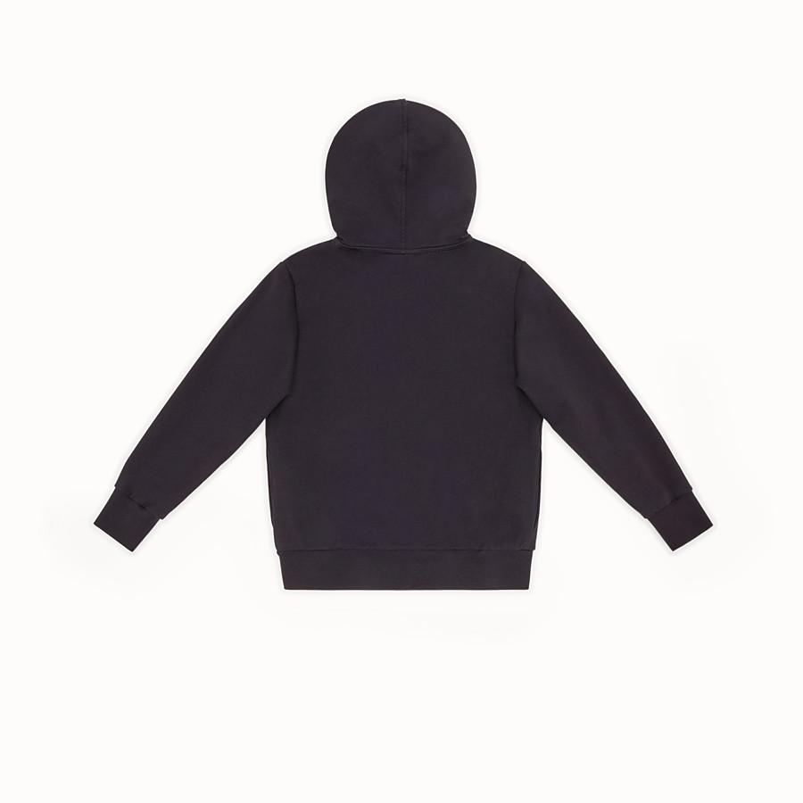 FENDI SWEATSHIRT - Jersey sweatshirt with Fendi embroidery - view 2 detail