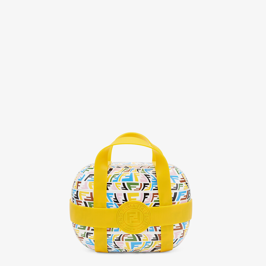 FENDI FOOD CARRIER - Multicolor fabric food carrier - view 1 detail