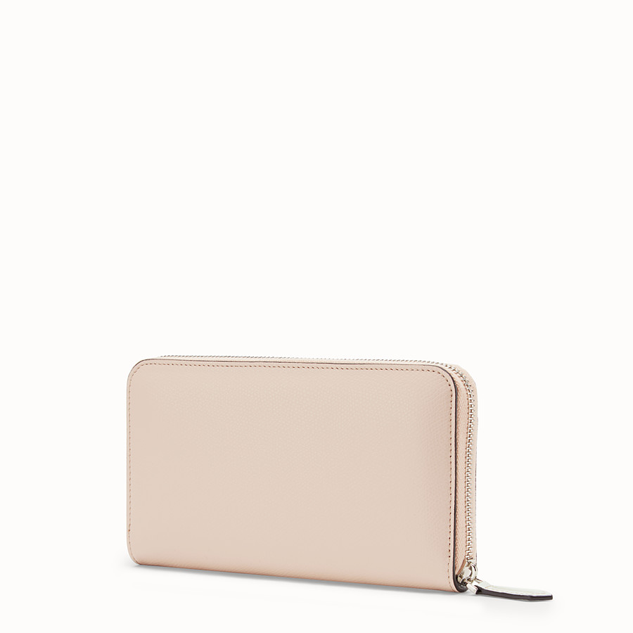 FENDI ZIP-AROUND - Multicolour leather wallet - view 2 detail