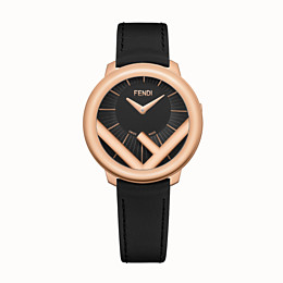 Rose gold, black