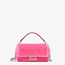 FENDI BAGUETTE - Fendi Prints On sheepskin bag - view 1 thumbnail