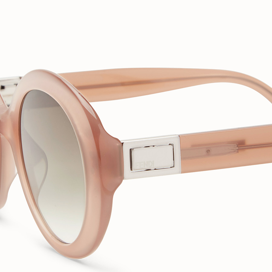 FENDI PEEKABOO - Brown sunglasses - view 3 detail