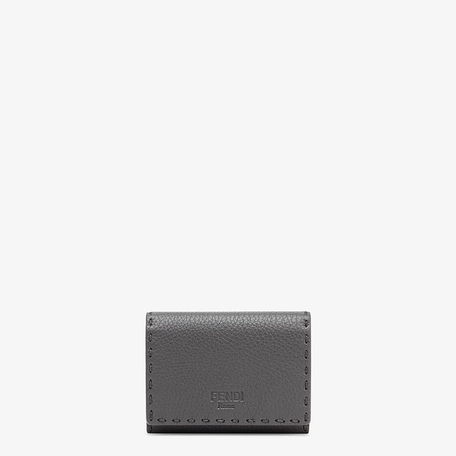 FENDI カードケース - グレー レザー ビジネスカードケース - view 1 detail