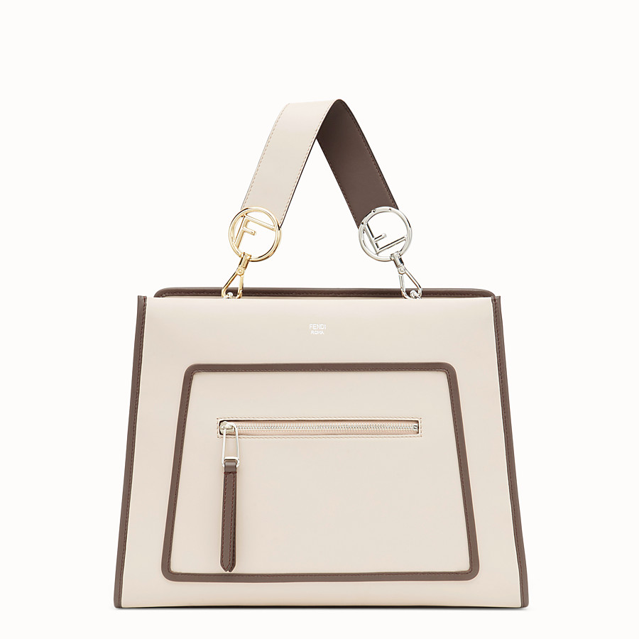 FENDI RUNAWAY REGULAR - Pink leather bag - view 1 detail