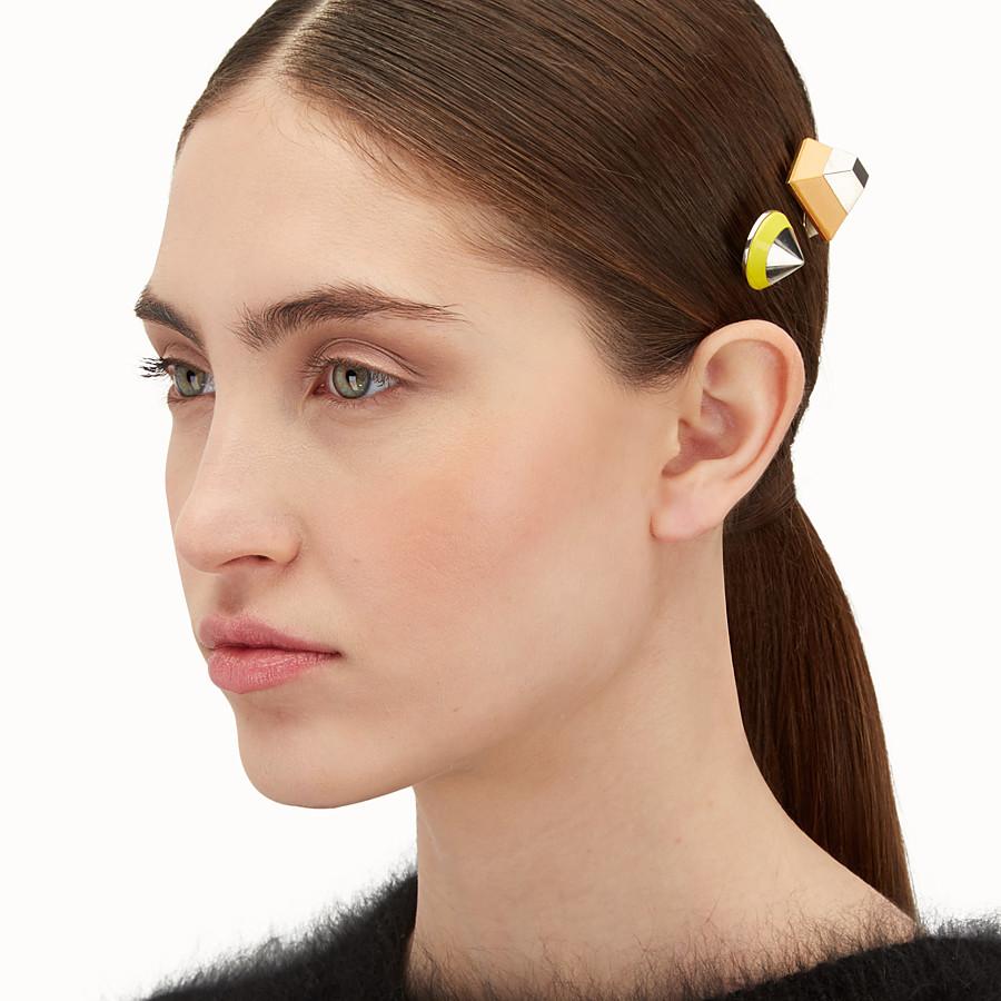 FENDI RAINBOW髮夾 - 一套兩枚鉚釘髮夾 - view 2 detail