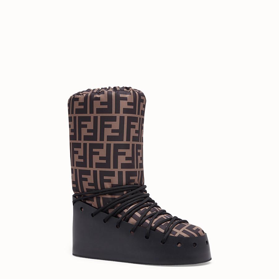 FENDI BOOTS - Multicolour nylon boots - view 2 detail