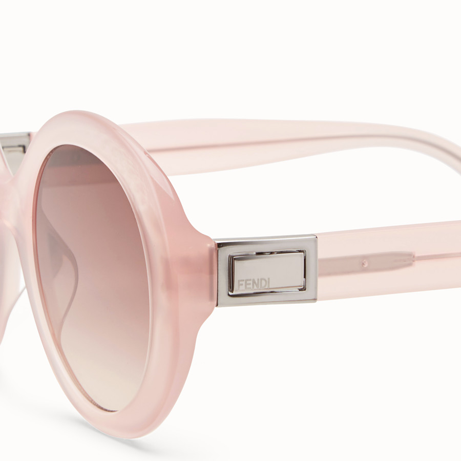 FENDI PEEKABOO - Pink sunglasses - view 3 detail