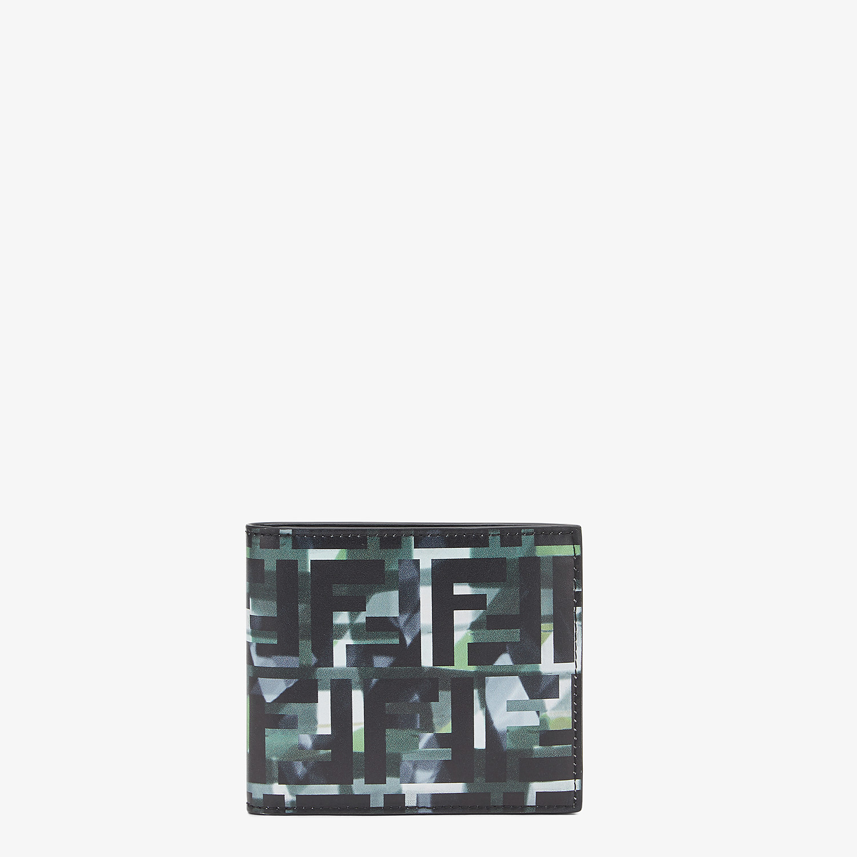 FENDI WALLET - Multicolour leather bi-fold wallet - view 1 detail