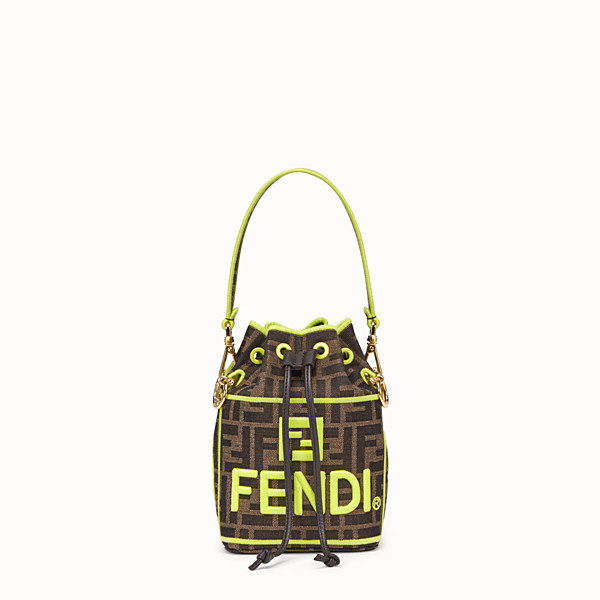 FENDI MON TRESOR - Fendi Roma Amor fabric mini-bag - view 1 small thumbnail