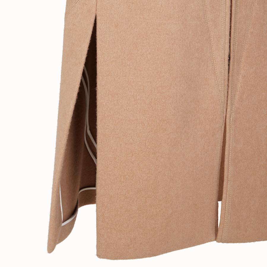 FENDI 코트 - 베이지 컬러의 카멜 코트 - view 3 detail