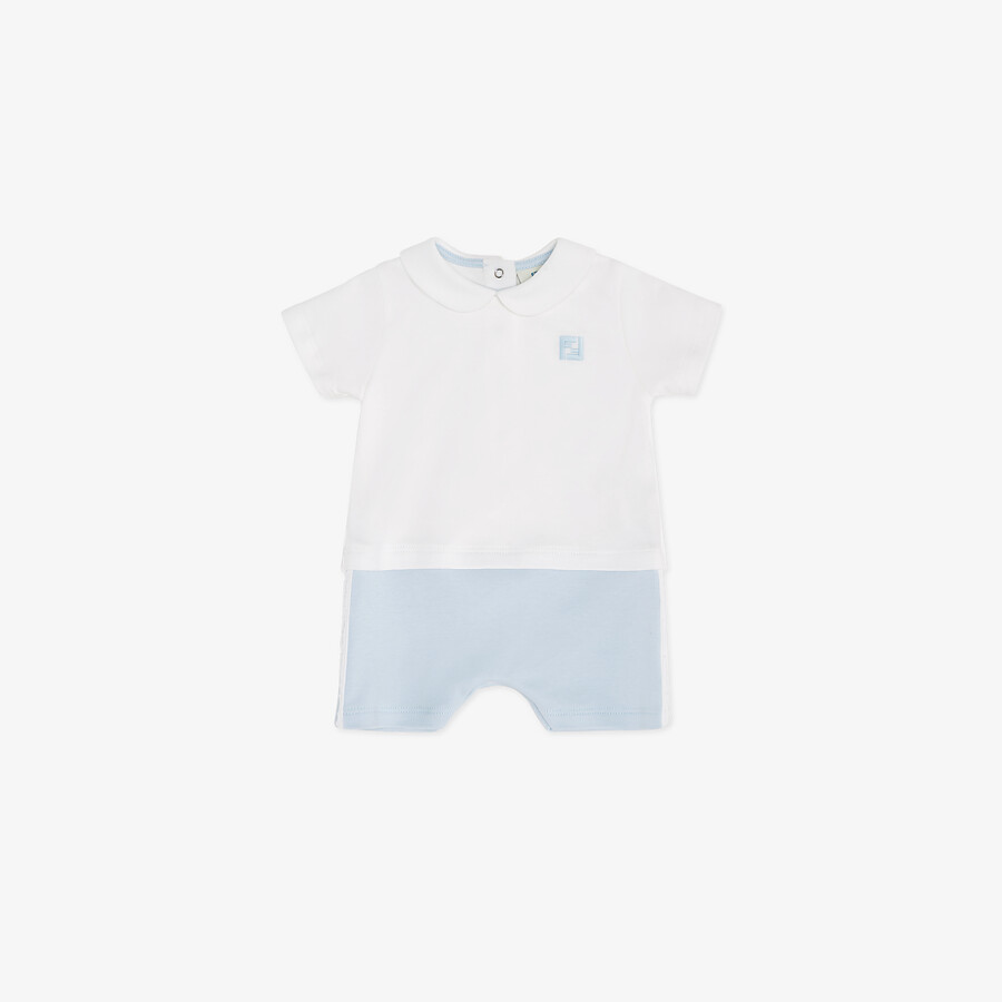 FENDI BABY PLAYSUIT - Jersey baby playsuit - view 1 detail