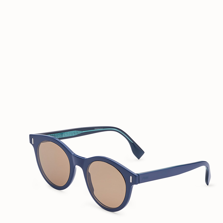 FENDI FENDI - Blue sunglasses - view 2 detail