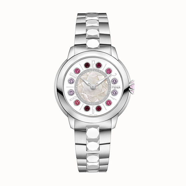 FENDI FENDI ISHINE - 38 mm - Watch with diamonds and rotating gemstones - view 1 small thumbnail