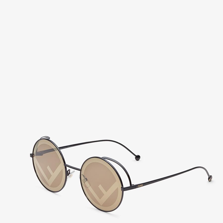 FENDI FENDIRAMA - Gafas de sol negras - view 2 detail