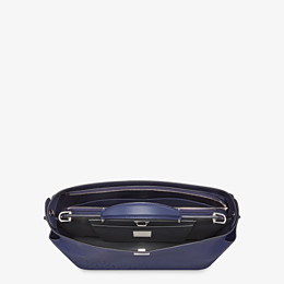FENDI PEEKABOO ICONIC ESSENTIAL - Blue calfskin bag - view 4 thumbnail
