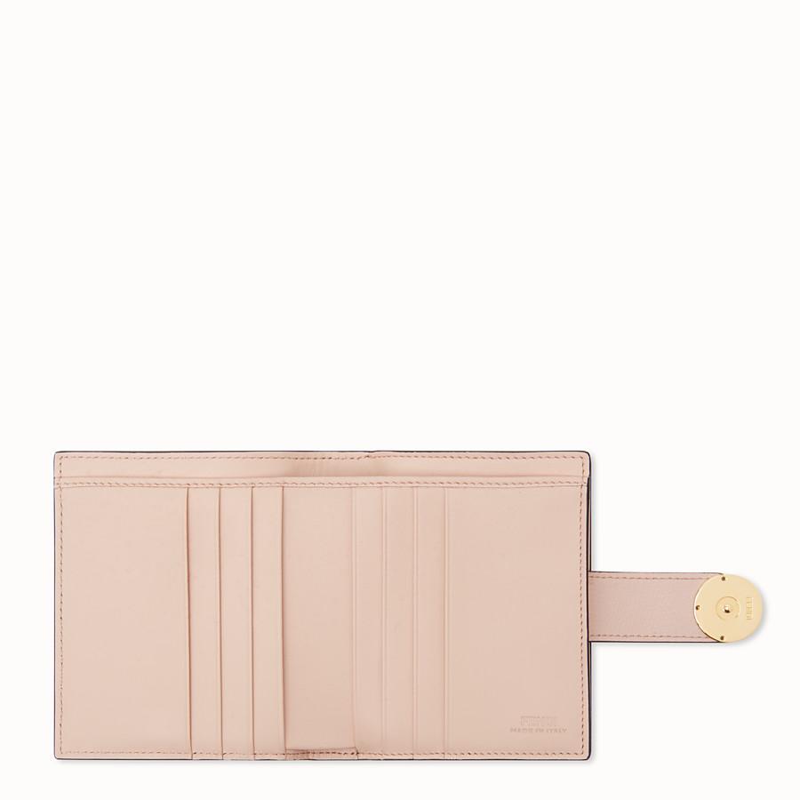 FENDI 二つ折り財布 - ブラウン レザー コンパクト財布 - view 4 detail