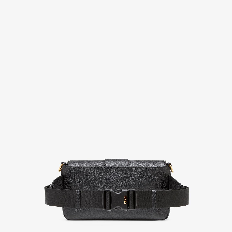 FENDI BAGUETTE - Black leather bag - view 3 detail