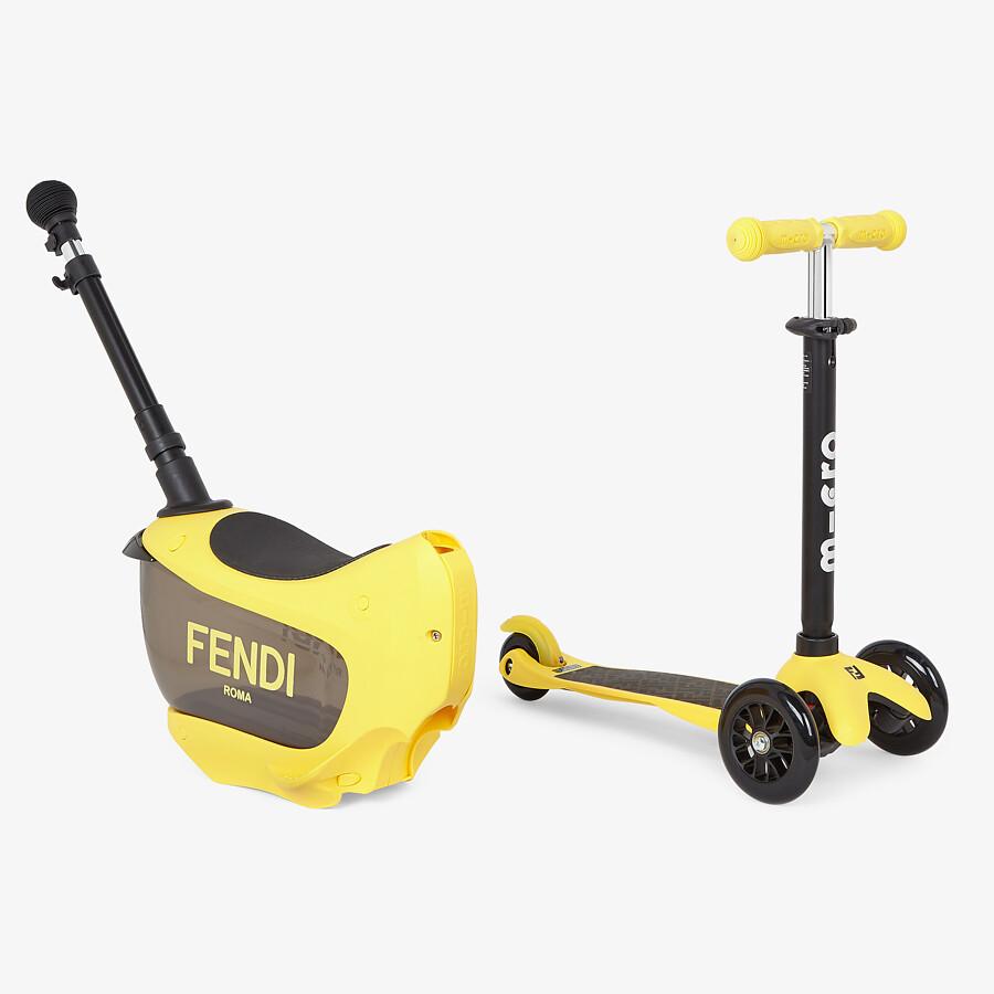 FENDI FENDI-MICRO BABY SCOOTER - Fendi - Micro baby kick scooter - view 3 detail