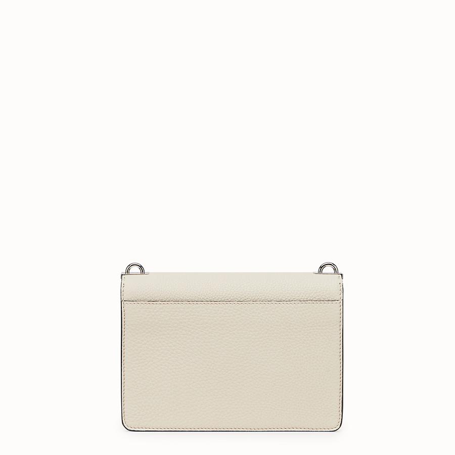 FENDI MESSENGER - White leather messenger - view 3 detail