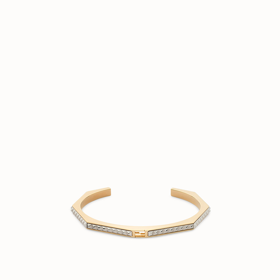 FENDI BAGUETTE BRACELET - Baguette bangle with micro-studs - view 1 detail