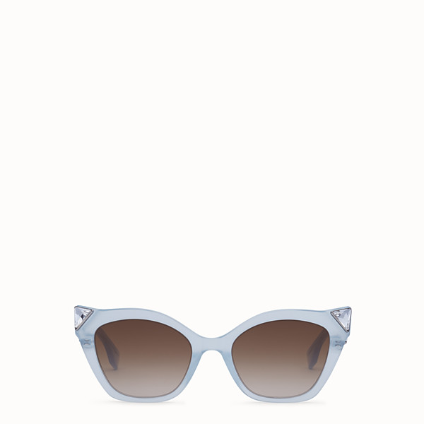 FENDI IRIDIA - Blue and opal blue sunglasses - view 1 small thumbnail