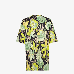 FENDI T-SHIRT - Mehrfarbiges T-Shirt aus Baumwolle - view 2 thumbnail