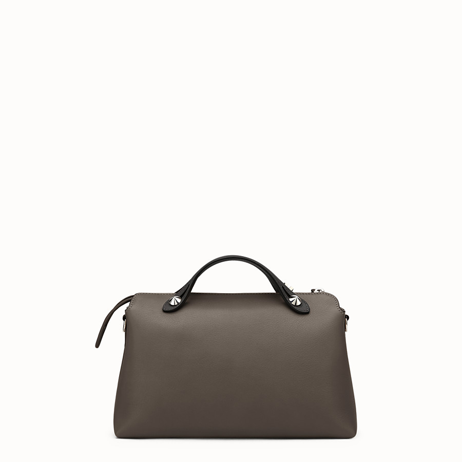 FENDI BY THE WAY REGULAR - Small multicoloured leather Boston bag - view 3 detail