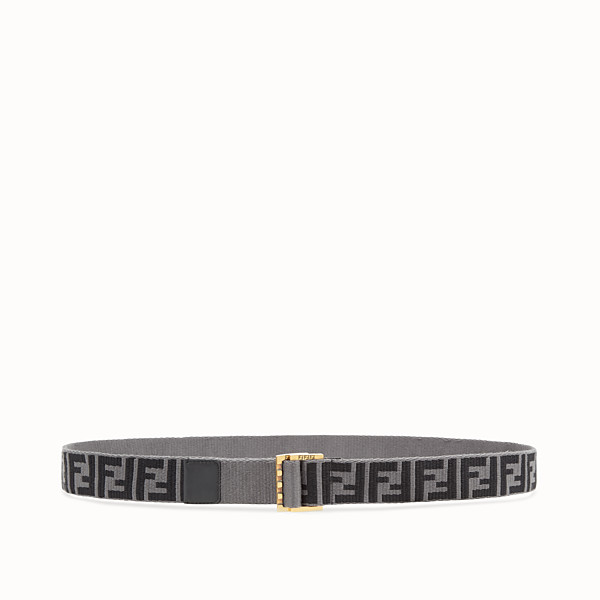 FENDI BELT - Multicolour fabric belt - view 1 small thumbnail