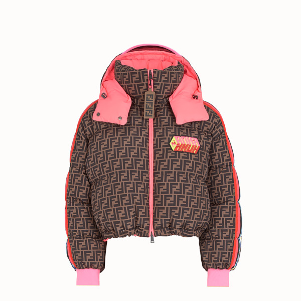 FENDI JACKET - Fendi Roma Amor nylon down jacket - view 1 small thumbnail