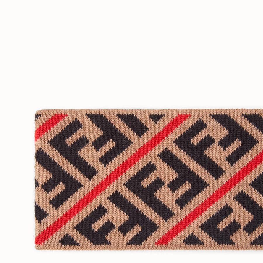 FENDI FASCIA - Fascia in lana multicolor - vista 2 dettaglio
