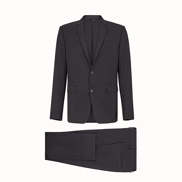 FENDI DRESS - Black wool suit - view 1 small thumbnail