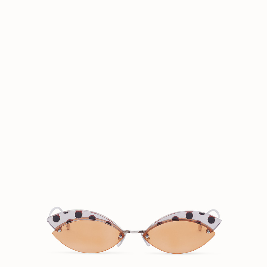 FENDI DEFENDER - Polka dot sunglasses - view 1 detail