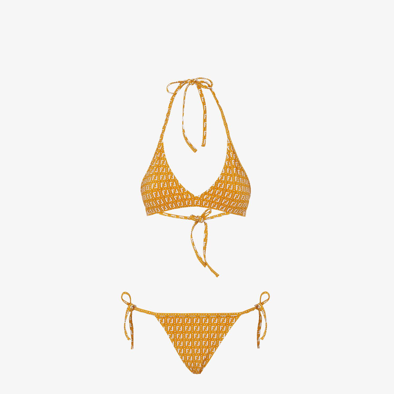 FENDI BIKINI - Orange LYCRA® bikini - view 1 detail