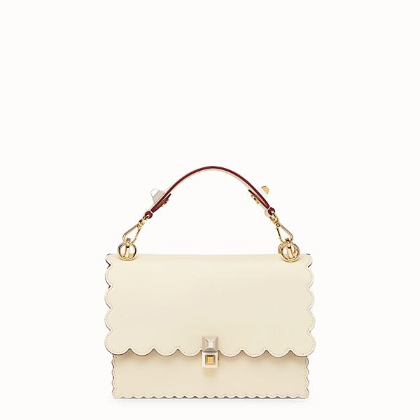 FENDI KAN I - White leather bag - view 1 small thumbnail