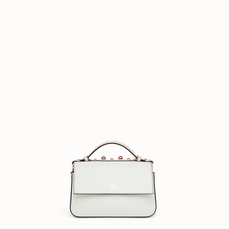 FENDI DOUBLE MICRO BAGUETTE - Multicolour leather minibag - view 3 detail