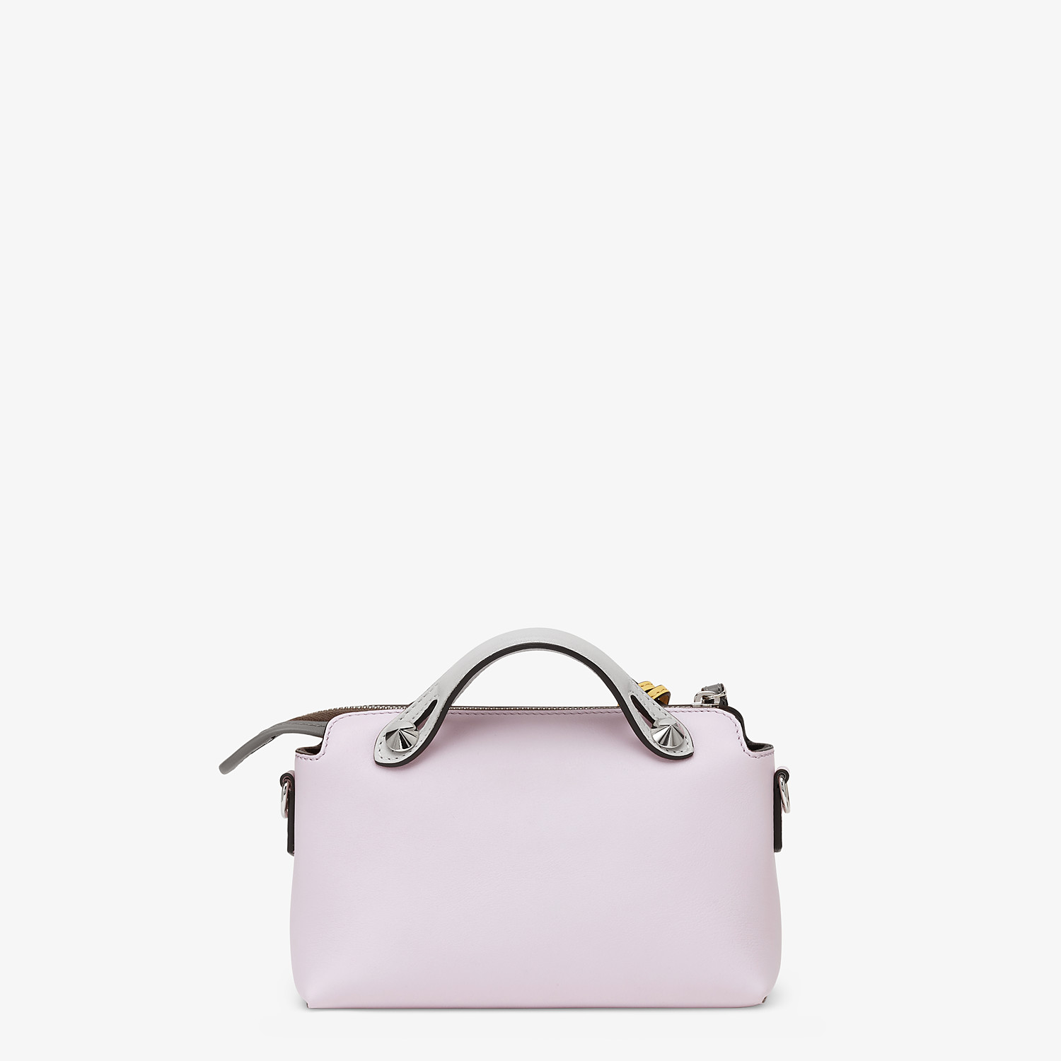 FENDI BY THE WAY MINI - Multicolor leather Boston bag - view 3 detail