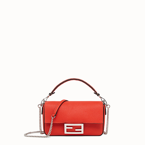 FENDI MINI BAGUETTE - Fendi Roma Amor leather bag - view 1 small thumbnail