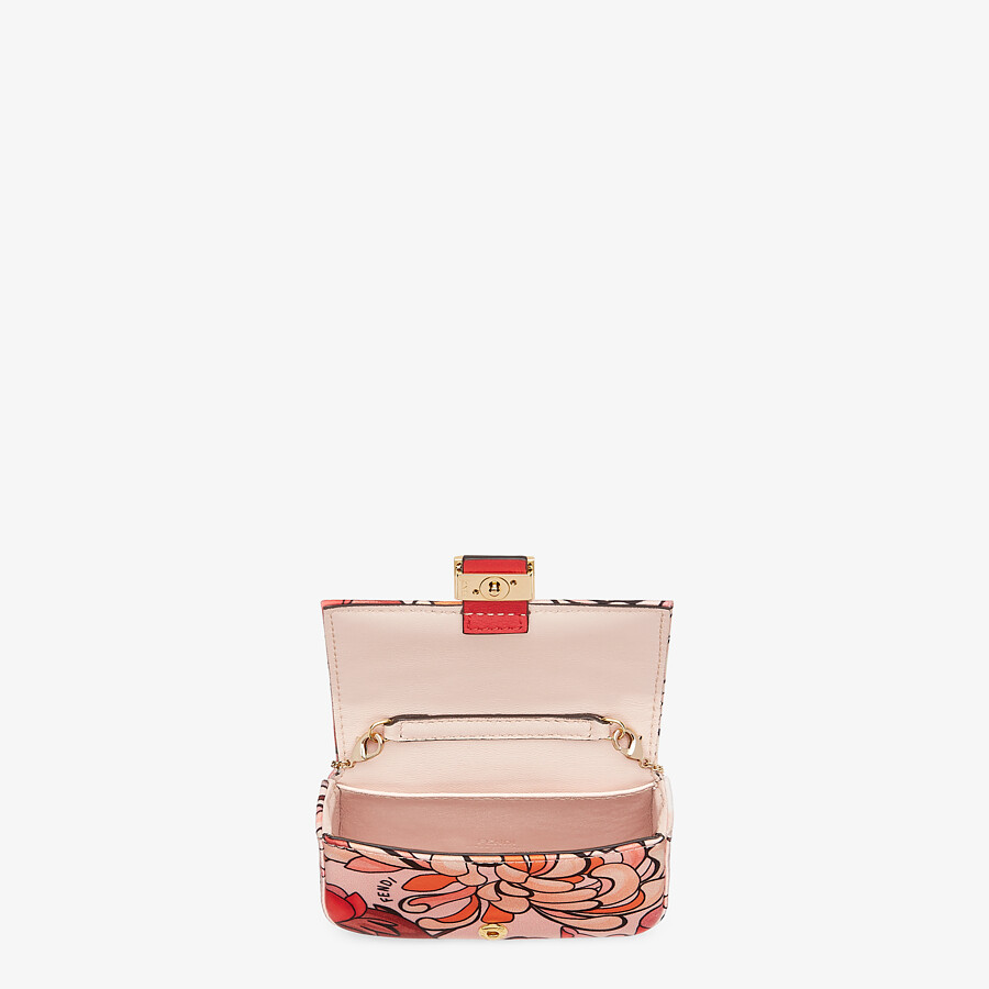 FENDI NANO BAGUETTE CHARM - Charm from the Lunar New Year Limited Capsule Collection - view 4 detail