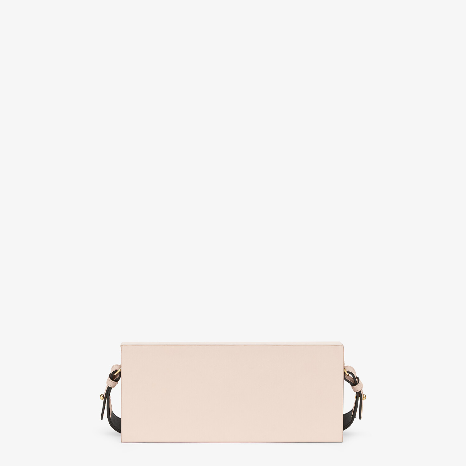 FENDI HORIZONTAL BOX - Pink leather bag - view 3 detail