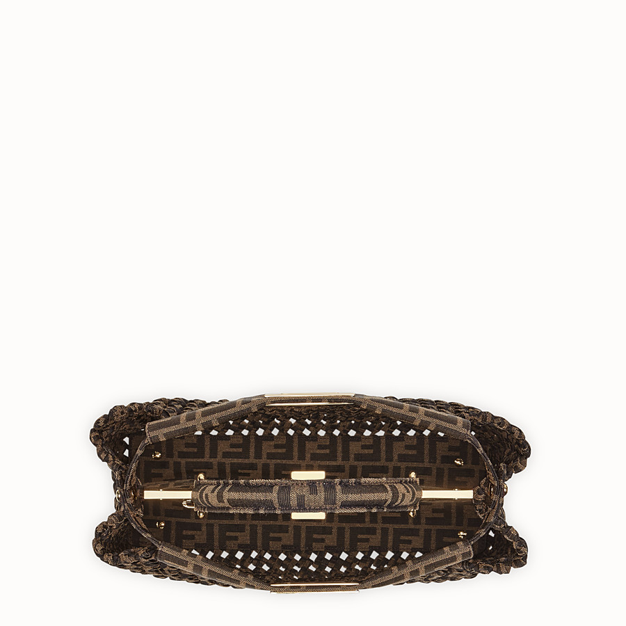 FENDI PEEKABOO ICONIC MEDIUM - FF jacquard interlace bag - view 5 detail