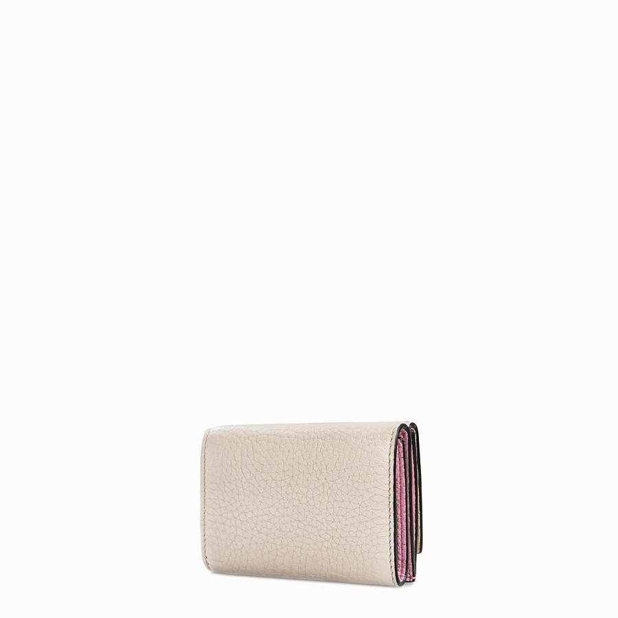 FENDI マイクロ 三つ折り財布 - レザー 財布  - view 2 detail