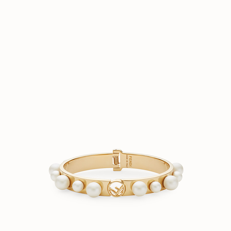 FENDI F IS FENDI BRACELET - Gold-colour bracelet - view 1 detail