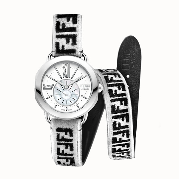 FENDI SELLERIA - Watch with interchangeable double tour strap - view 1 small thumbnail