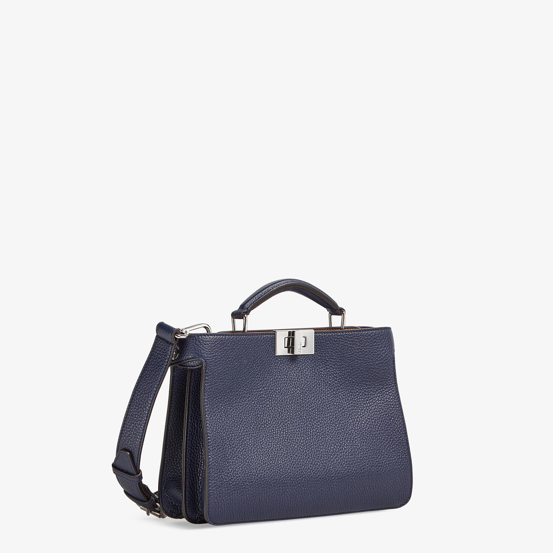 FENDI PEEKABOO ISEEU MINI - Dark blue leather bag - view 3 detail