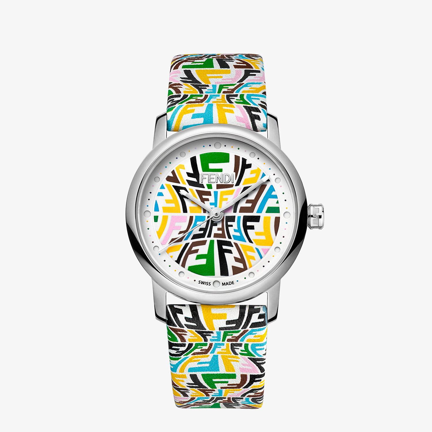 FENDI FOREVER FENDI - 29 MM - Watch with printed FF pattern - view 1 detail