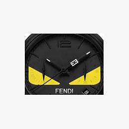 FENDI MOMENTO FENDI BUGS - 40 mm - Chronograph watch with strap - view 3 thumbnail