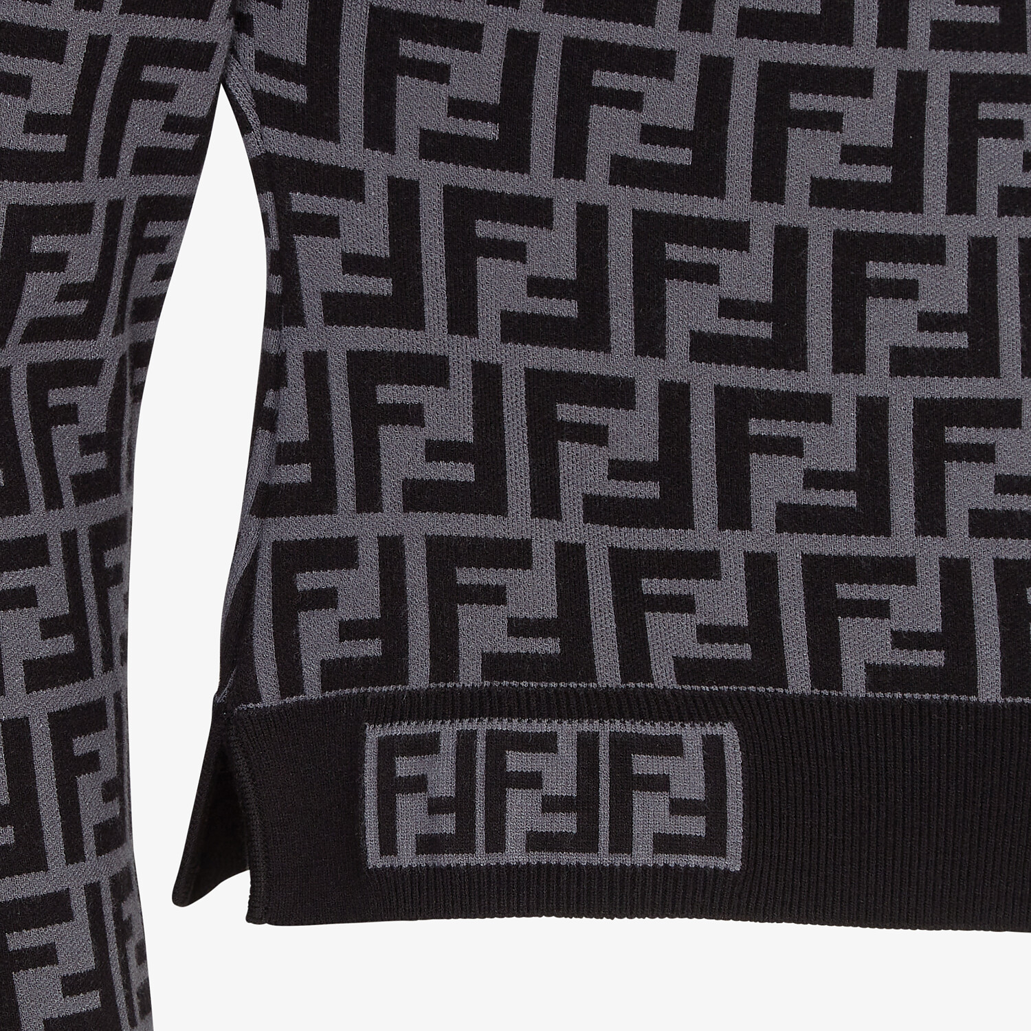 FENDI JUMPER - FF motif jumper - view 3 detail