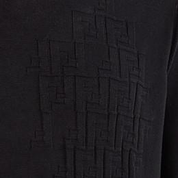 FENDI PULLOVER - Black cotton jumper - view 3 thumbnail